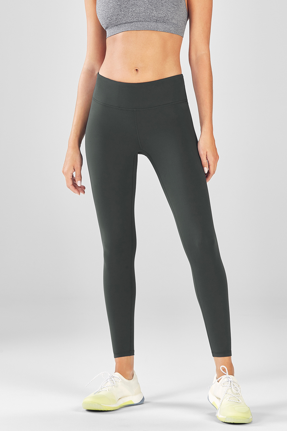 Salar Solid PowerHold® Legging - Everglade