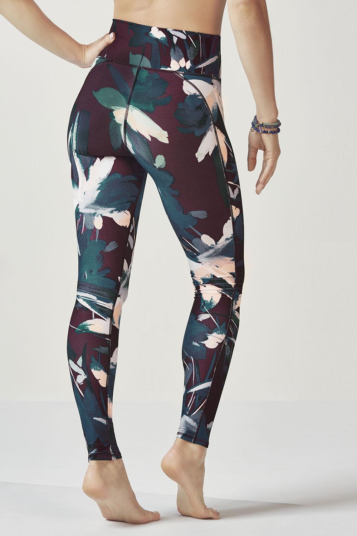 65b77684b419c7 High-Waisted Printed PowerHold® Legging - Floral Spark Print