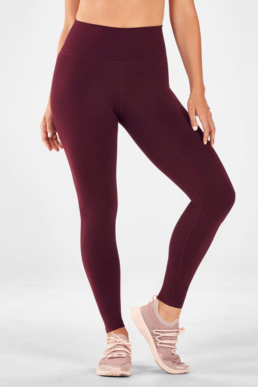 Premium Yoga Pants High waisted Leggings Fall Leggings Luxury Leggings Burgundy Legging Comfort fit legging
