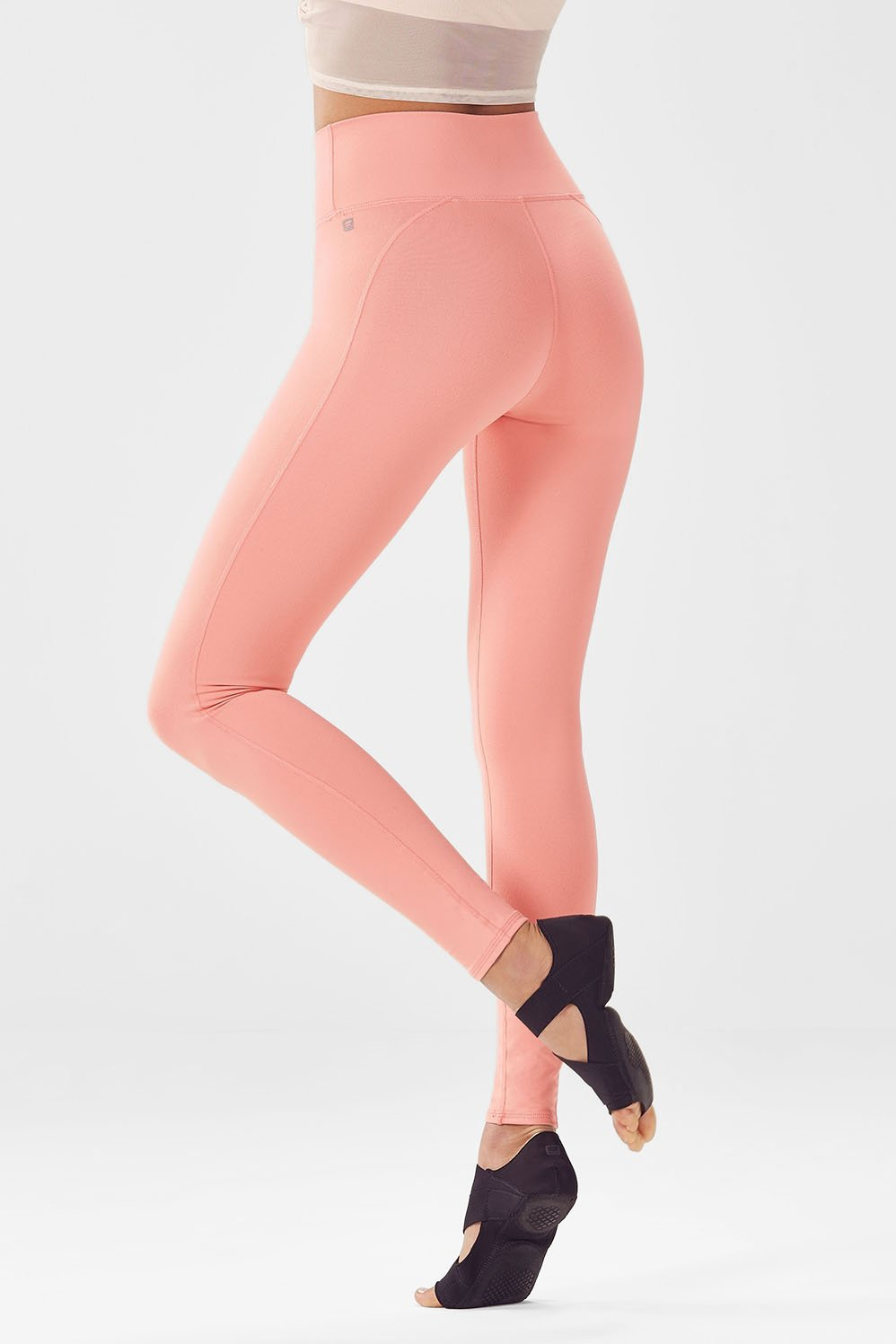 433cc54f97dcf9 High-Waisted Solid PowerHold® Legging - Fabletics