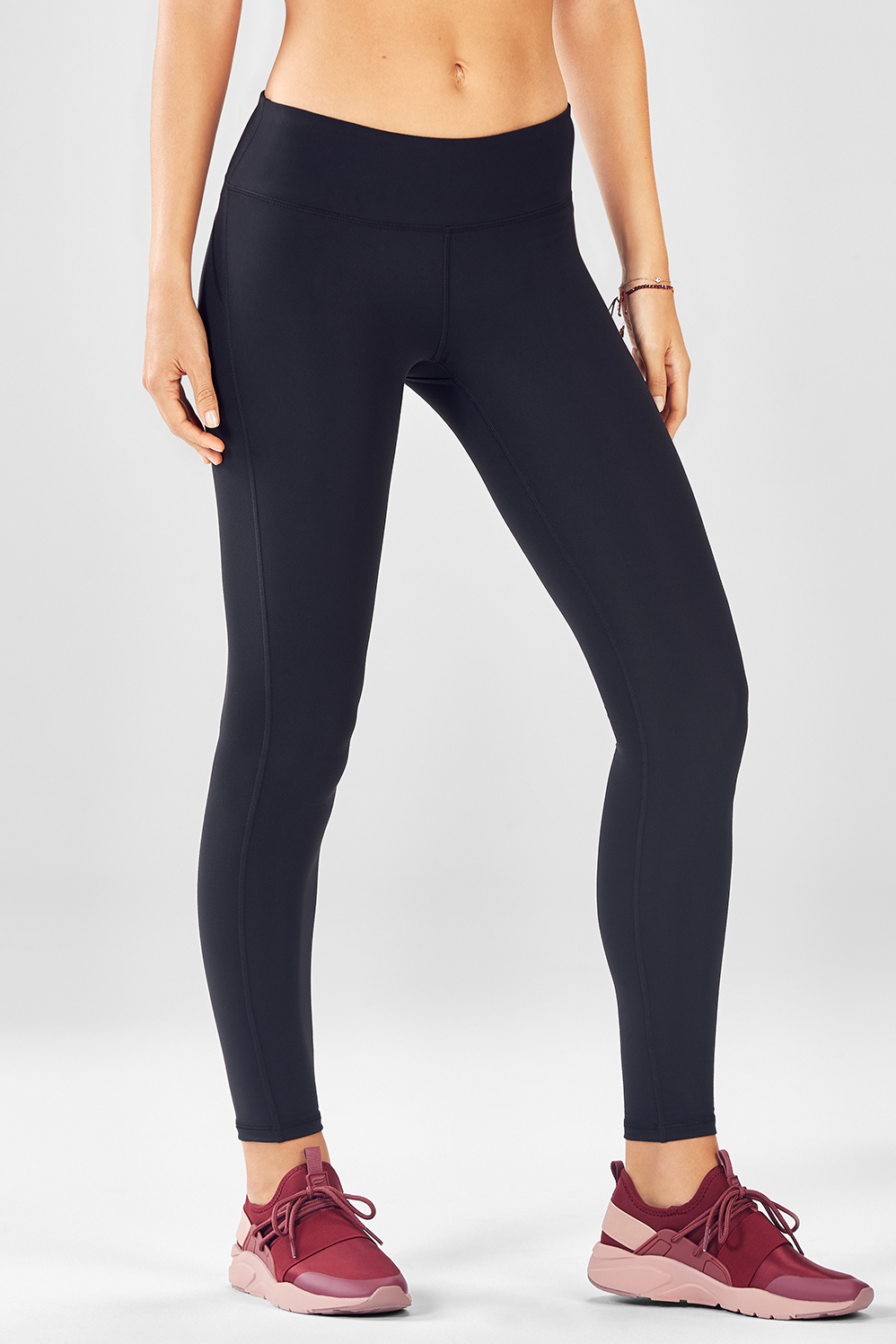 Fabletics Tight Salar Solid Powerform Legging Womens Black Size M
