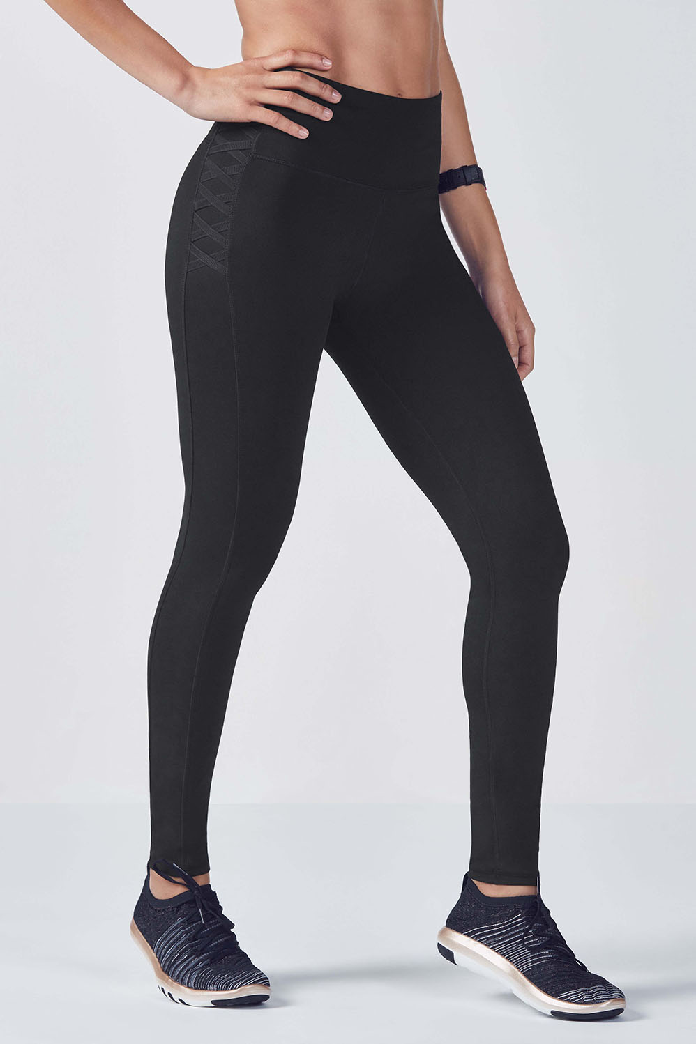c86b2248a High-Waisted Statement PowerHold® Legging - Fabletics