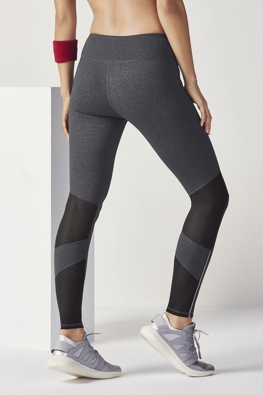 66fac03c7c2566 Salar Mesh PowerHold® Legging - Charcoal Heather/Black
