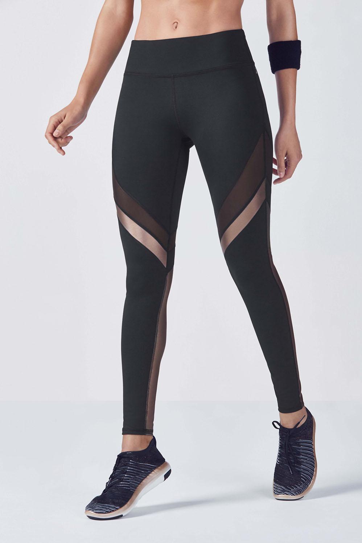 d0331e17ae5113 Salar Mesh PowerHold® Legging - Black/Copper