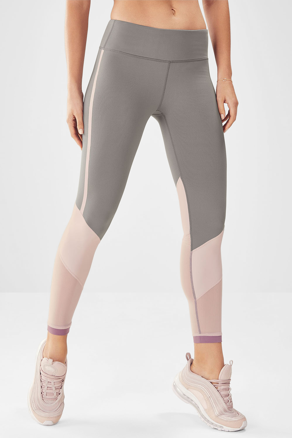 d2437cd9a92c7b Salar Mesh PowerHold® Legging - Clay/Dusty Rose/Rouge