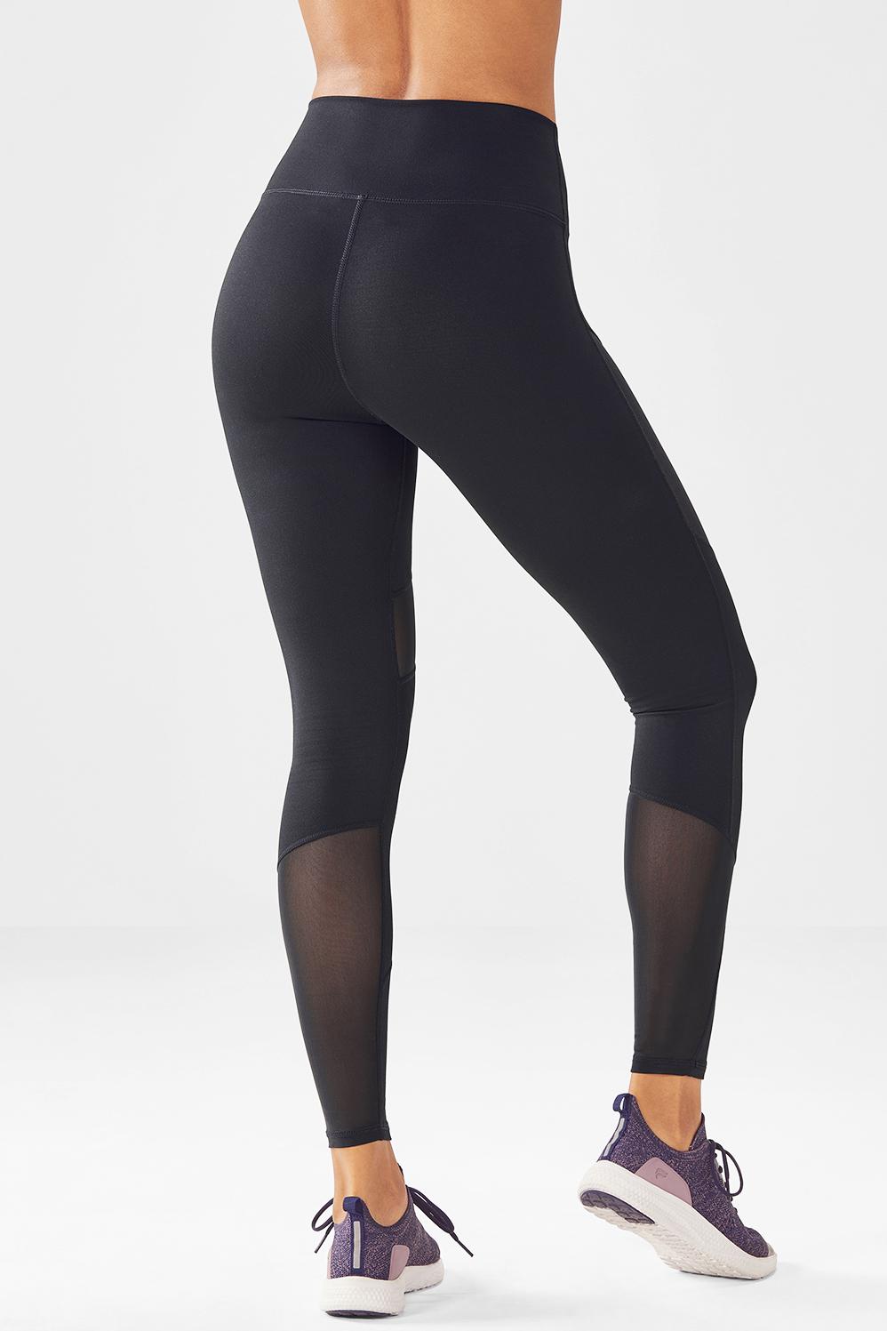 9e6bb38bd7d57 High-Waisted Mesh PowerHold® Legging - Fabletics
