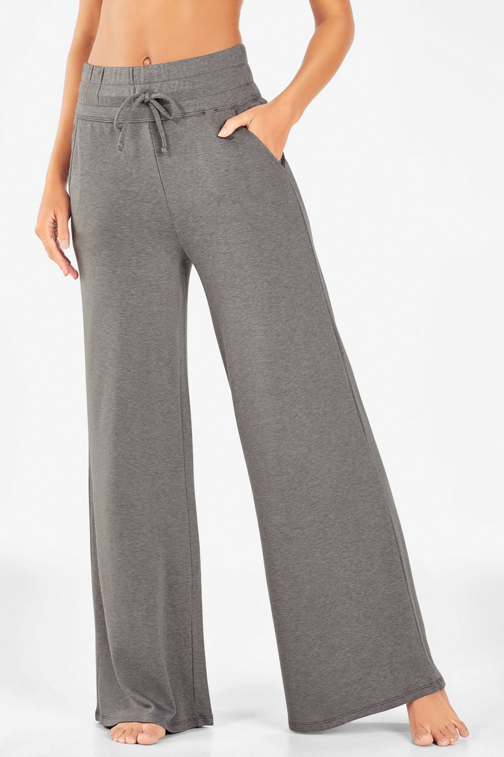TRANSIT PAR SUCH Smart Casual Comfy Trousers Super Stretchy Size 2 UK 10 New
