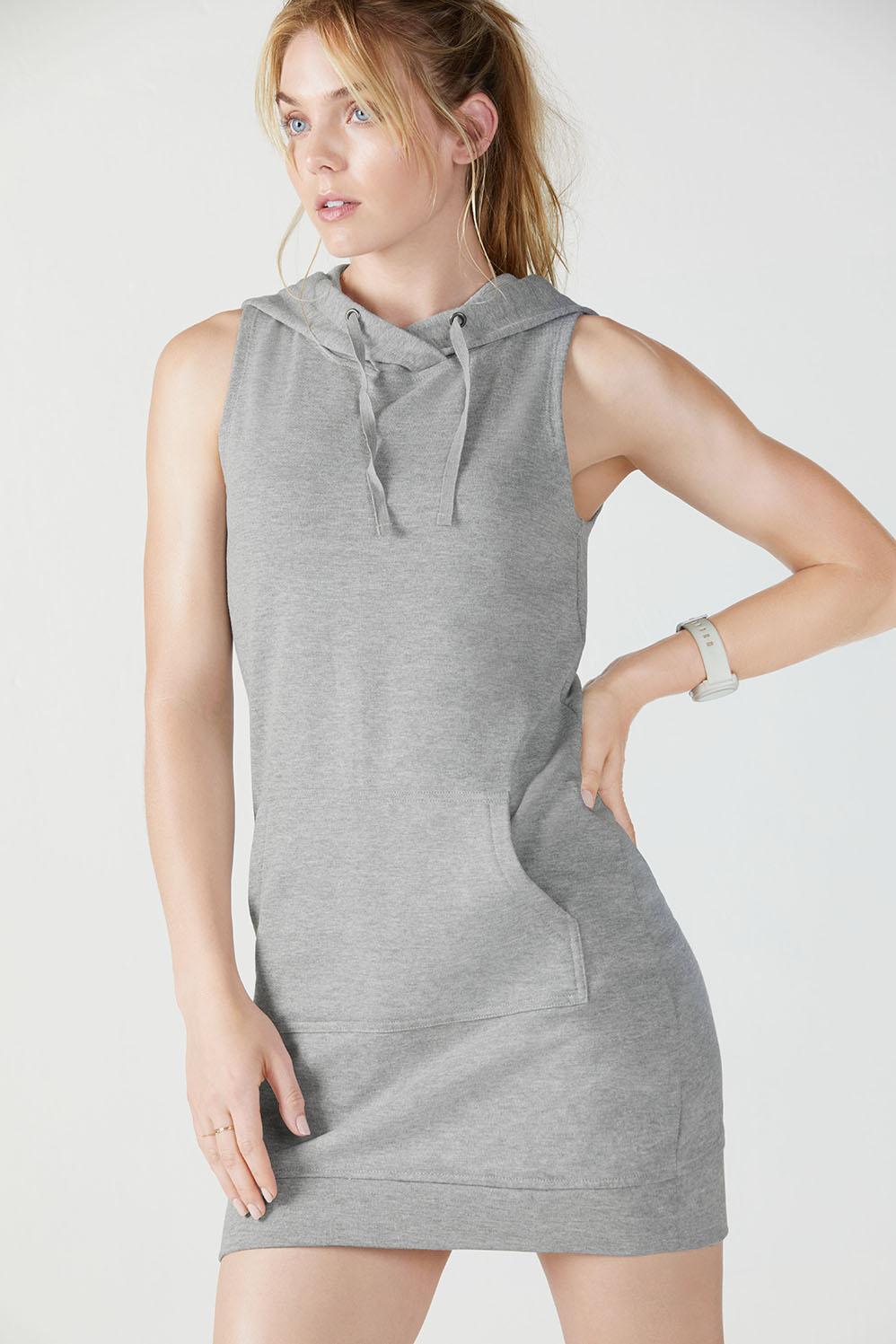 b8565a23eb Yukon Sleeveless Dress - Grey Heather