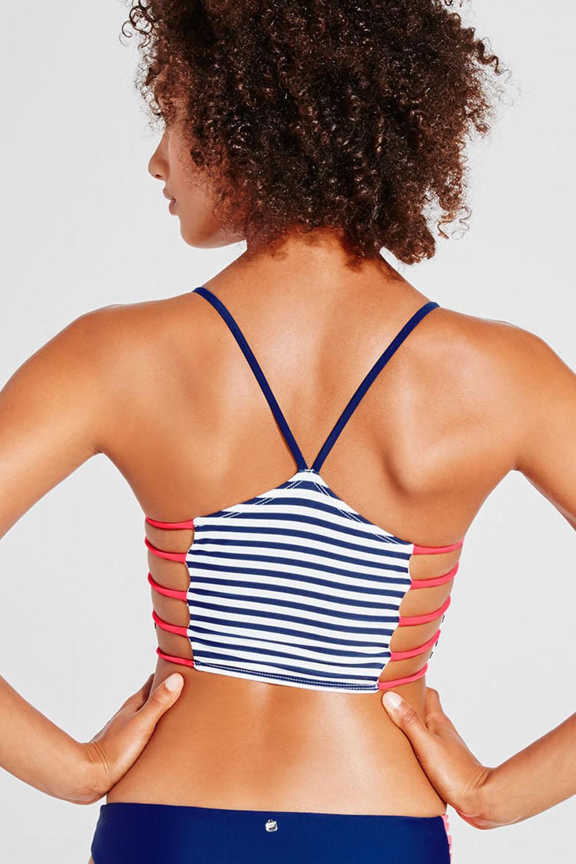 1f1c5eb800167 Vivian Midi Bikini Top - Fabletics