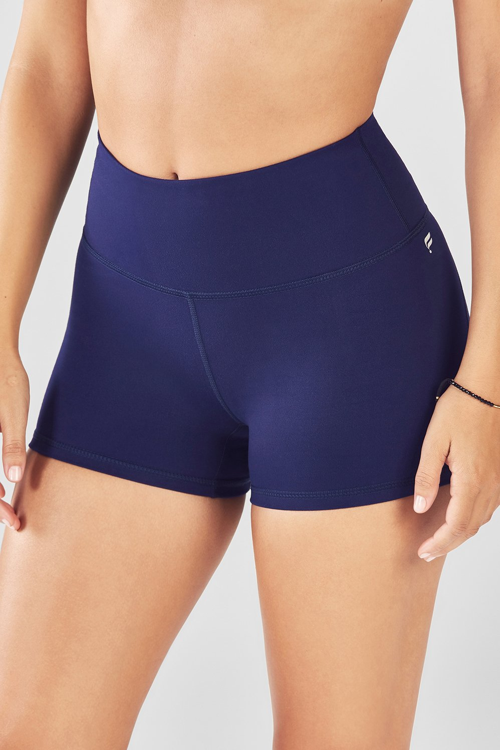 d528e3afd93 High-Waisted Solid PowerHold® Short - Fabletics